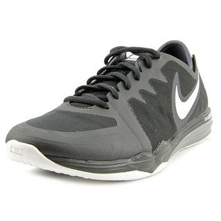 Nike Dual Fusion Tr 3 Women Round Toe Synthetic Black Running Shoe