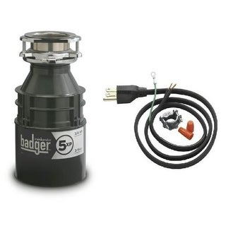 InSinkErator Badger 5XP Badger 3/4 HP Garbage Disposal with Soundseal Technology