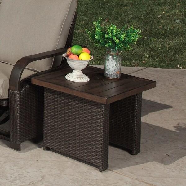 Shop Barcalounger Outdoor Living Palm Grove Porcelain Top ... on Barcalounger Outdoor Living id=54553