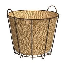 Panacea 3Qt Rustic Bushel Basket