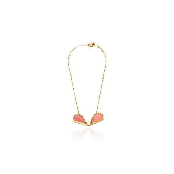 Monte Carlo Necklace in Pink