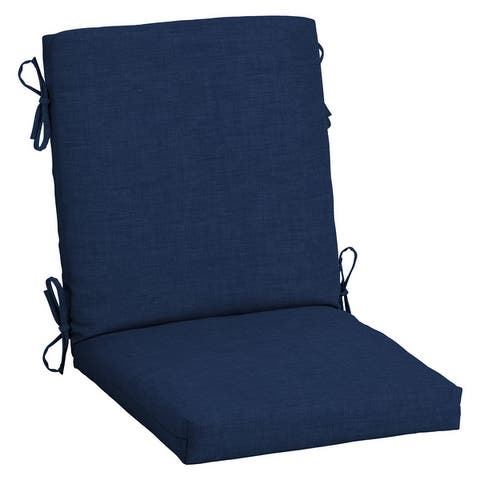 Arden Selections Outdoor 44 x 20 in. High Back Dining Chair Cushion