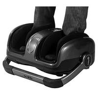 Ivation 2 in 1 Foot and Calf Massager - Adjustable Vibration, Air Pressure & Rolling Massage - Heat & Easy Button Control Panel