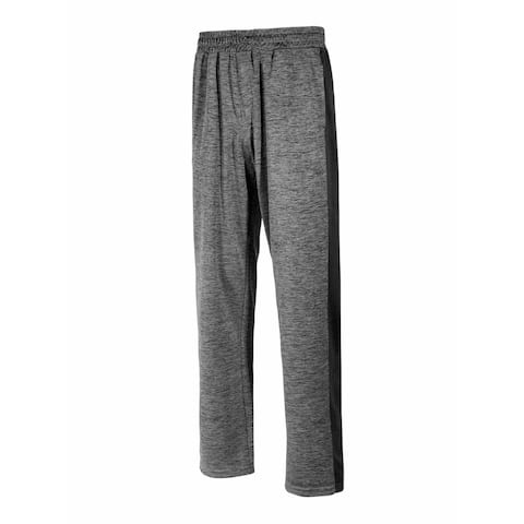Ideology Mens Activewear Gray Size 3XL Space Dye Training Track Pants
