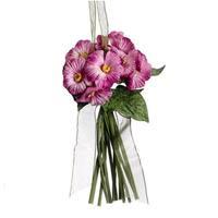 7 in. Princess Garden Pink Posie Floral Bouquet Christmas Ornament