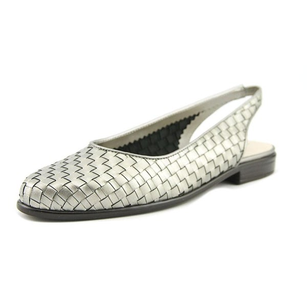 Trotters Lucy Pewter Pumps