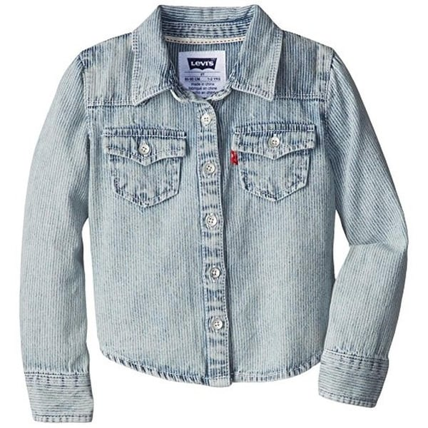 Levi's Girls Denim Shirt Pocket