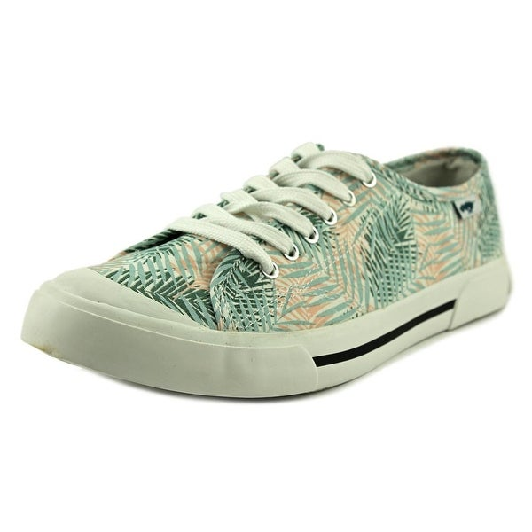 Rocket Dog Jumpin Women Canvas Green Fashion Sneakers