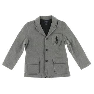 Polo Ralph Lauren Boys Jacket Heathered Logo - 6