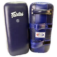 Fairtex Extra Long Thai Kick Pads - Blue