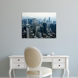 Easy Art Prints PhotoINC Studio's 'Manhattan' Premium Canvas Art