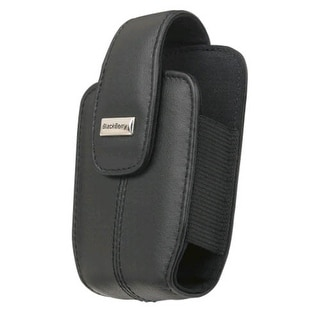 OEM Blackberry Curve 8300 8310 8320 8330 Lambskin Leather holster with swivel be