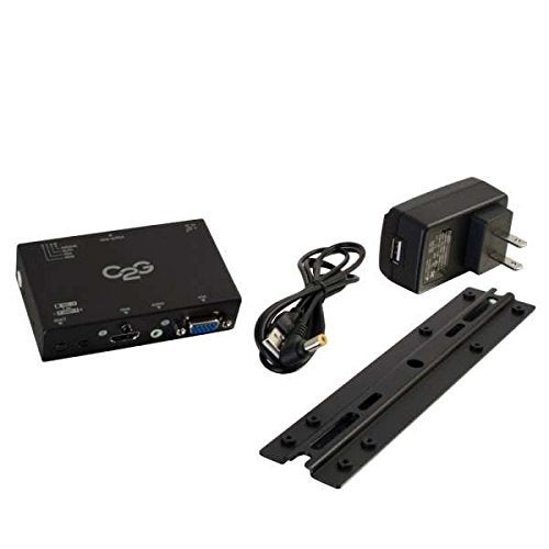 C2g - Hdmi, Vga, And Audio To Hdmi Converter Switch