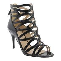 Nine West Women's Yolo Sandal Black Leather