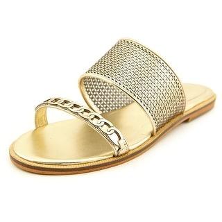 Enzo Angiolini Jioni Women Open Toe Synthetic Slides Sandal