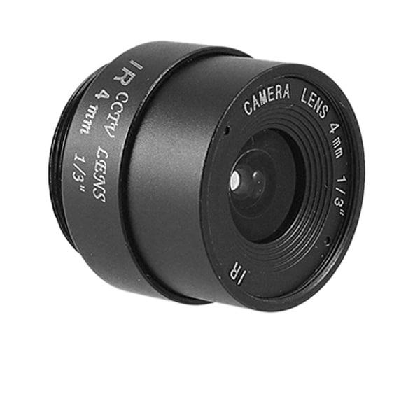"Unique Bargains 1/3"" Format IR Fixed Iris Lens for CCTV Camera Black Bxnpi"