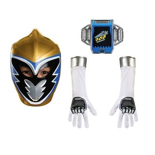 Power Rangers Gold Ranger Dino Charge Child Accessory Kit One Size