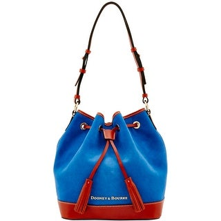 Dooney & Bourke Suede Drawstring (Introduced by Dooney & Bourke at $268 in Sep 2016) - French Blue