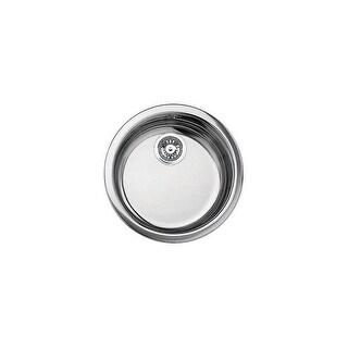 "Blanco 513652 Rondo Stainless Steel Drop In Undermount Bar Sink 18 1/8"" x 18 1/8"""