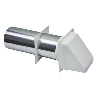 "Lambro 209W White Dryer Vent Hood, 4"""