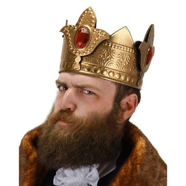 Adult Costume King Crown - Gold