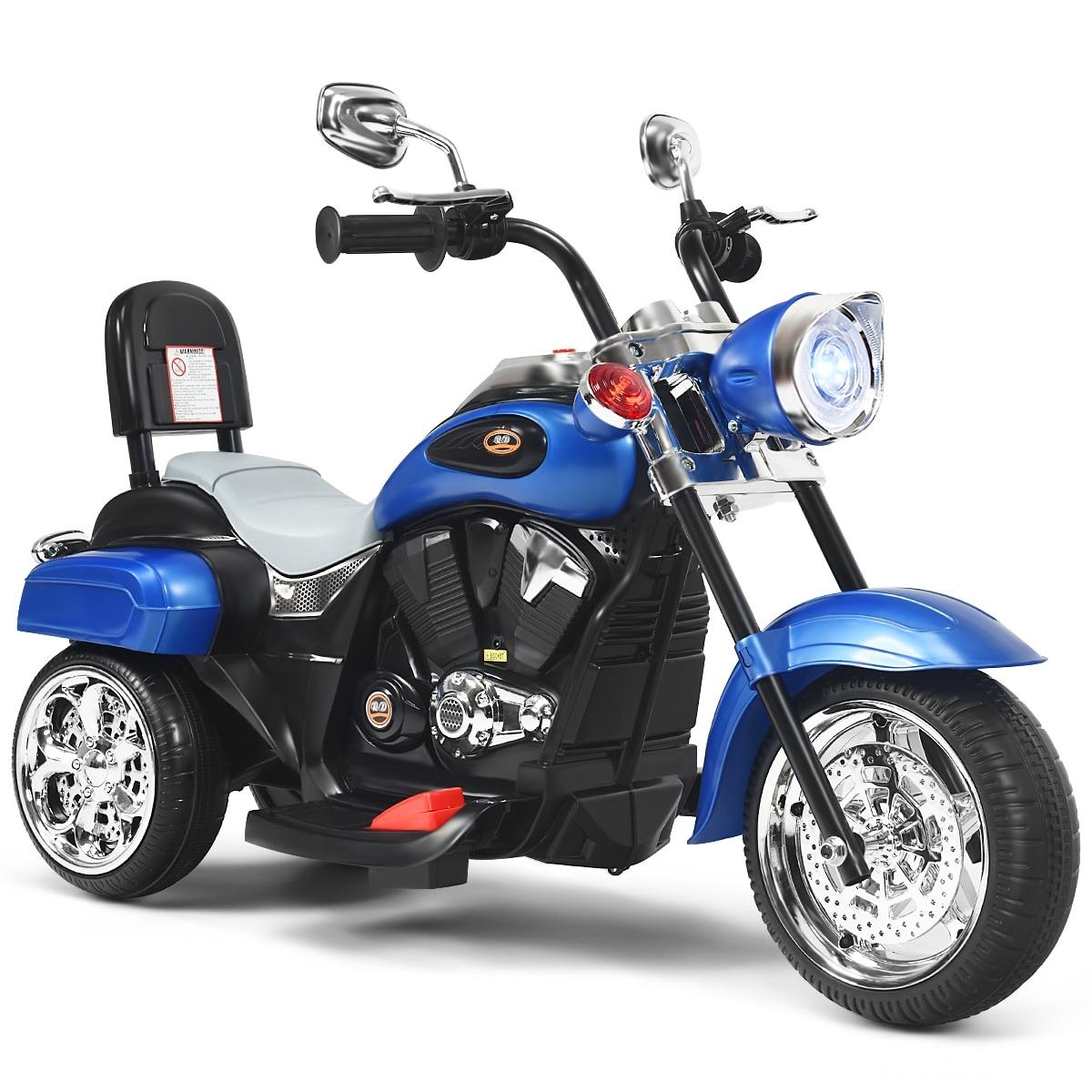 Kids Motorcycle Ride On 6 V 3 Wheels Kids Ride on Motorcycle