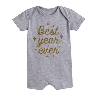 Best Year Ever Sparkle - First New Year Infantromper