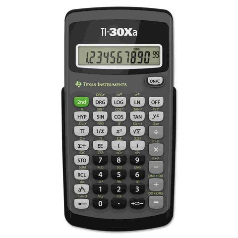 Texas Instruments TI30XAM Texas Instruments TI-30Xa Scientific Calculator