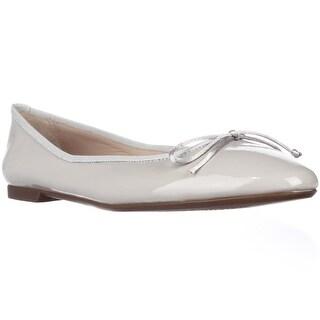 Sweet Ballerina Lera Bow Ballet Flats - Grey