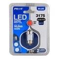 Pilot Automotive Super Bright LED Dome Light Bulb (2 LEDS Per Bulb) - Thumbnail 4