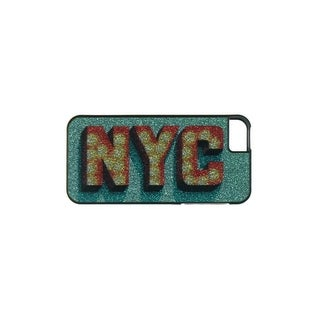 Greene + Gray Womens NYC Cell Phone Case iPhone 5 Glitter - o/s