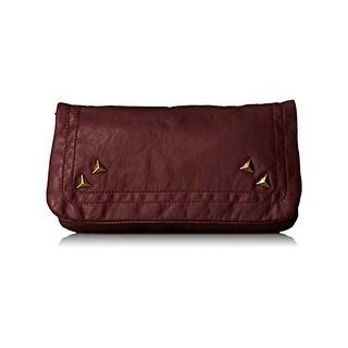 Twig & Arrow Womens Shoulder Handbag Faux Leather Studded - small