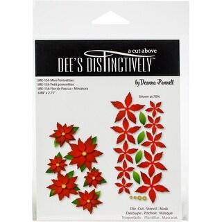 "Mini Poinsettias 2.75""X4.88"" - Dee's Distinctively Dies"