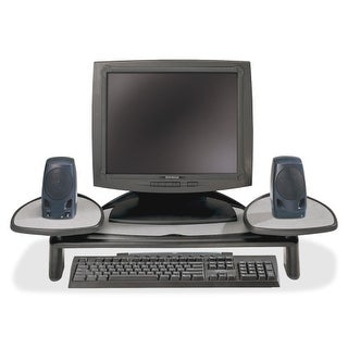 "Kensington 60046 Kensington SmartFit Monitor Stand - Up to 21"" Screen Support - 35 lb Load Capacity - Flat Panel Display"