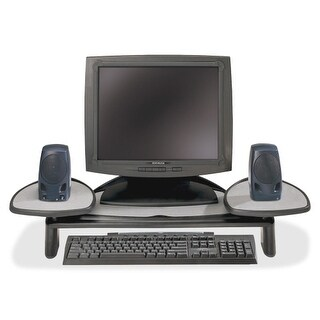 """Kensington 60046 Kensington SmartFit Monitor Stand - Up to 21"" Screen Support - 35 lb Load Capacity - Flat Panel Display"
