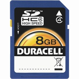 Duracell 8Gb Sdhc Memory Card