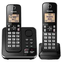 Panasonic KX-TGC362B 2 Handset Cordless Phone
