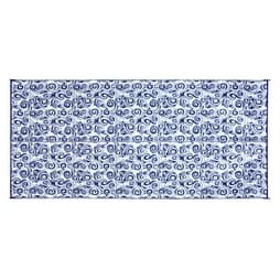 Shop Camco 42841 Reversible Outdoor Mat 8 X 16 Blue Swirl Blue Swirl Overstock 15695011