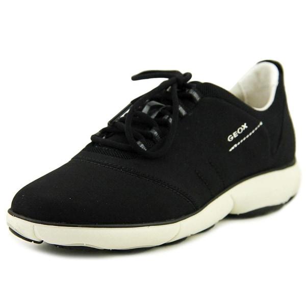 Geox NEBULA Women Round Toe Synthetic Black Walking Shoe