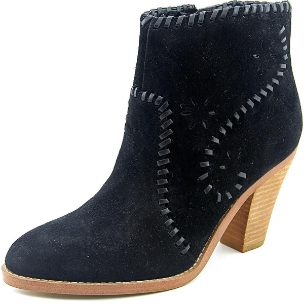 Ivanka Trump Mandel Women Round Toe Suede Ankle Boot