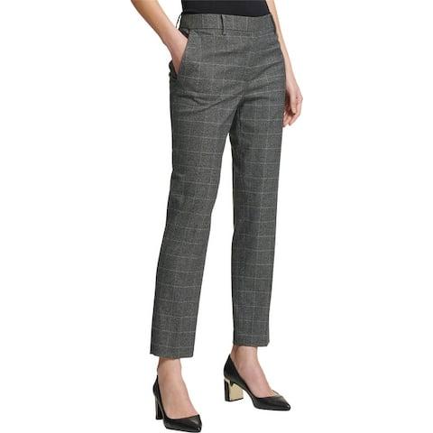 Dkny Womens Menswear Dress Pants