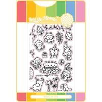 Jungle Birthday - Waffle Flower Stamp & Die Set