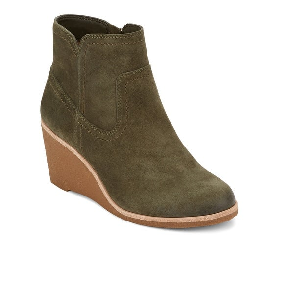 14726327e031 Shop G.H. Bass   Co. Womens Rosanne Leather Wedge Heel Bootie - On ...