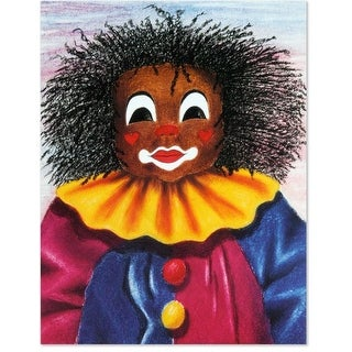 Soulepa, Unframed Lithograph_ My Rasta Clown