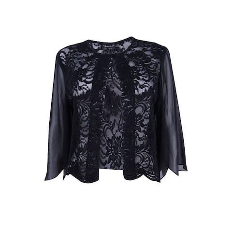 Connected Women's Long Sleeve Chiffon Cardigan