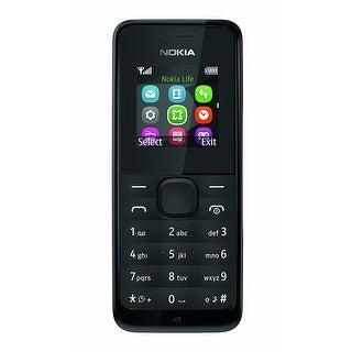 Nokia 105 Unlocked GSM Phone - Black
