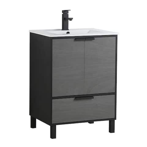 Fine Fixture Bathroom Vanity and Sink, ADA Compliant
