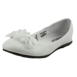 Jelly Beans CICI Round Toe Leather Flats