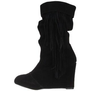 Kelsi Dagger Women's Carousel Slouchy Wedge Boots