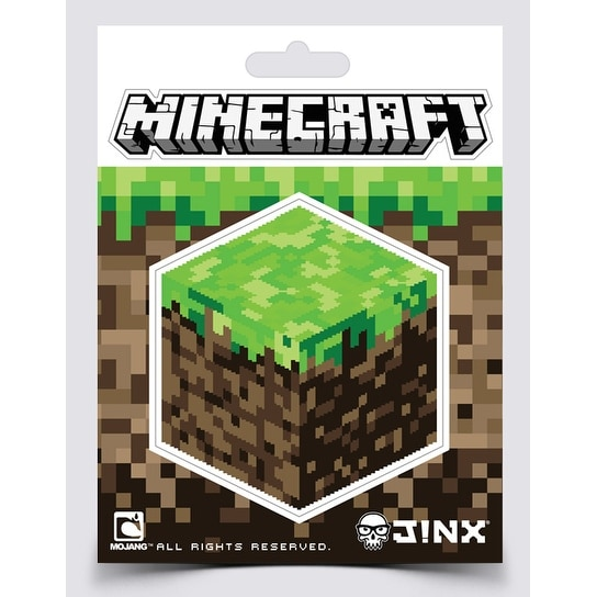 Minecraft Dirt Block Sticker - multi
